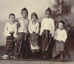 Young Burmese Princes & Princesses